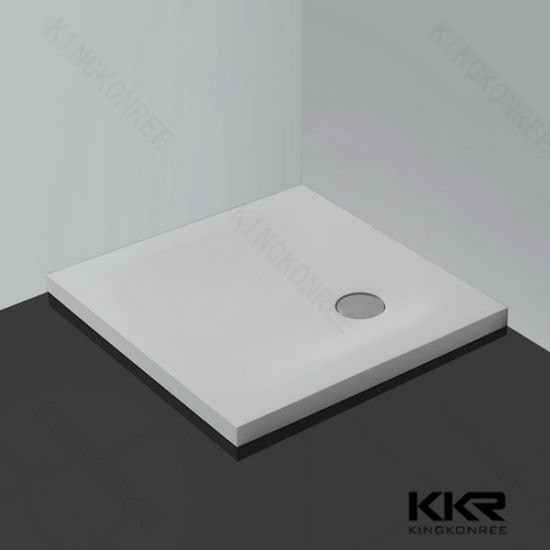 Superbe Wholesale Matte Acrylic Solid Surface Stone Shower Tray