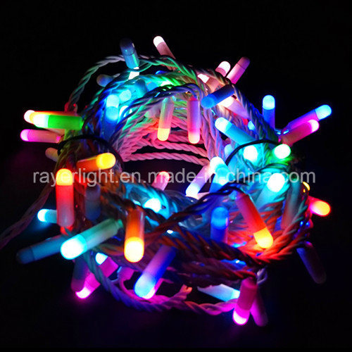 Wholesale LED Wedding Christmas String Lights Twinkling RGB Flicker Lights