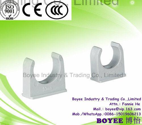 Electrical PVC Wiring Pipe Fitting U Clip