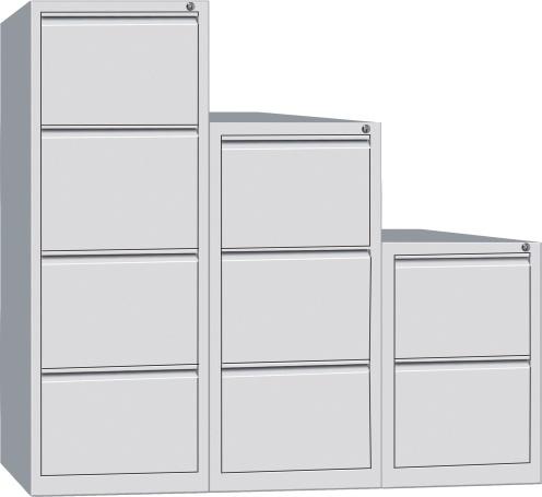 2drawer/3 Drawer/4 Drawer Locking Bar Steel Filing Storage Cabinet