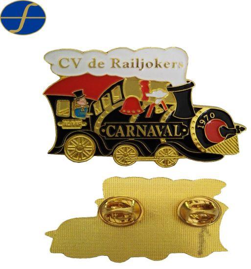 Hot Sales Custom Metal Badge Promotion Gift Cartoon Lapel Pin Enamel Pin