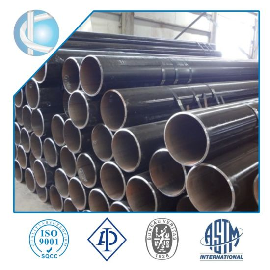 API 5L Gr. B ERW/LSAW/SSAW/Seamless Sch 40 Carbon Steel Pipe