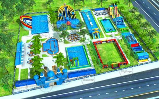 New Design Inflatable Floating Water Park Used Water Park Equipment Adult Inflatable Water Park pictures & photos