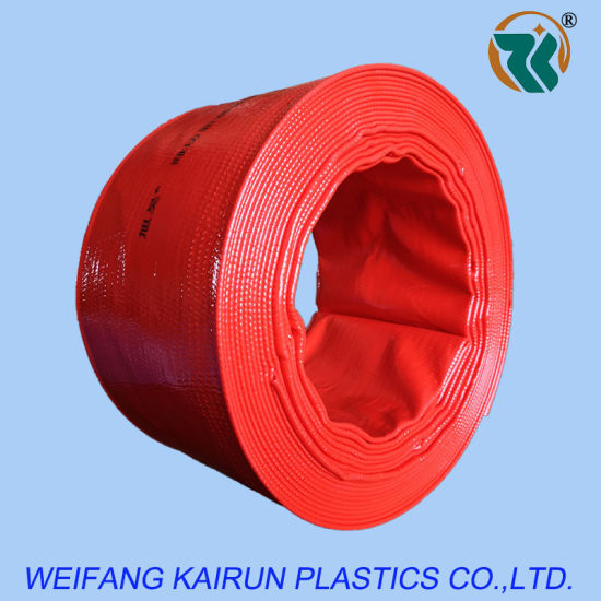 High-Pressure Red and Yellow Blue PVC Layflat Hose