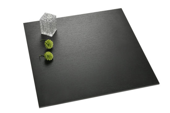 24*24inch 600*600mm Black Polished Full Body Wall and Floor Porcelain Tiles pictures & photos