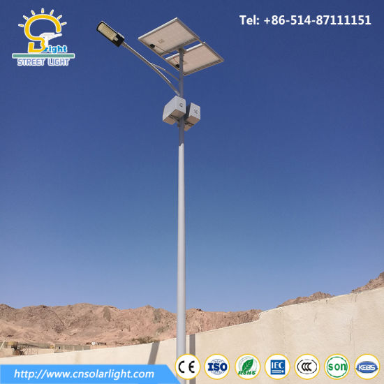 90W Solar Lamp with 9m Light Pole pictures & photos