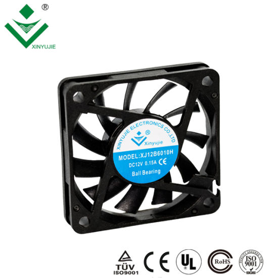 High Temperature DC Fan 6010 5V 12V 24V Mini DC Axial Cooling Fan Air  Conditioner for Cars
