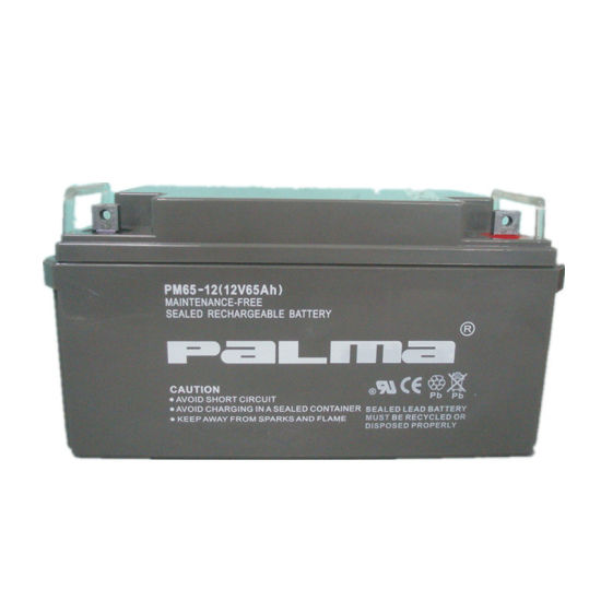 Deep Cycle Lead Acid Gel Batteries 12V65ah for UPS System pictures & photos