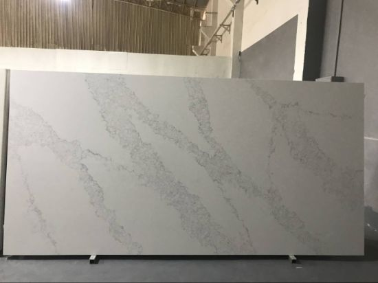 Free Sample Calacatta Quartz Stone Slabs/White Quartzite Countertops  Wholesale Price In USA