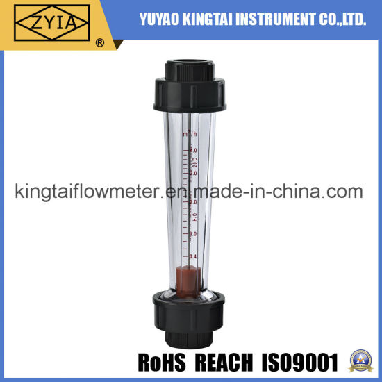 Low Cost Threaded Connection Plastic Flowmeter for Water