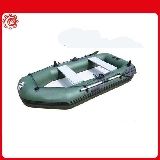 6.5FT 200cm Air Deck Floor PVC Inflatable Boat with Tent