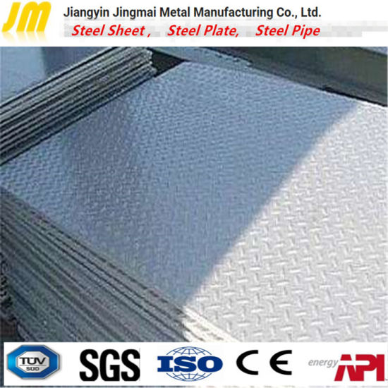 Mild Steel Sheet Iron Checker Plate with Grade ASTM A105  sc 1 st  Jiangyin Jingmai Metal Manufacturing Co. Ltd. : checker plate plastic - pezcame.com