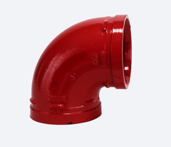 Ductile Iron Pipe Fittings Grooved Elbow with FM UL Certificated