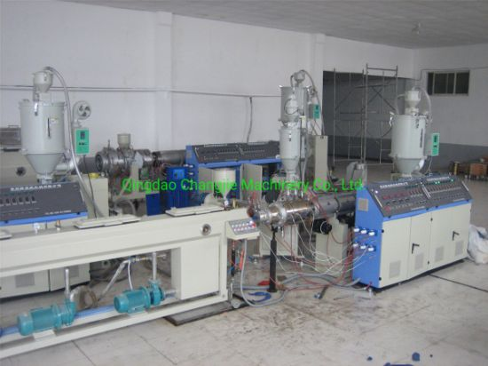 New Condition 3 Layer PPR Glass Fiber Reinforced Pipe Extruder Machine