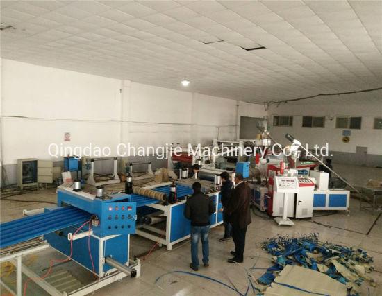 PVC Corrugated Sheet Extruder Machine/PVC Corrugated Sheet Plant Line