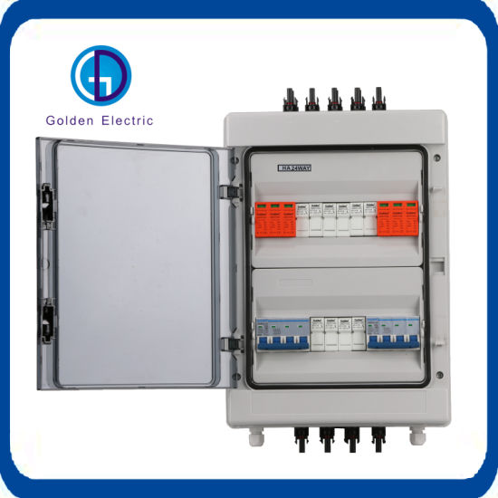 Cheaper Price Waterproof Plastic DC AC Switching Box 4 Strings DC Combiner Box Array Box