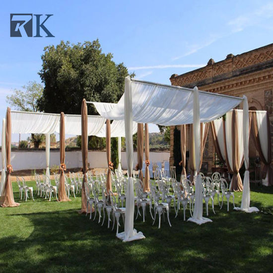 Wholesale Cage Shape Canopy Pipe and Drape for Event Wedding Backdrop pictures u0026 photos & China Wholesale Cage Shape Canopy Pipe and Drape for Event Wedding ...