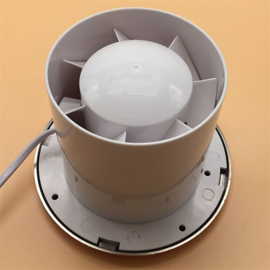 Plastic Blade Household Bathroom Exhaust Fan 4/6 Inch with Cover