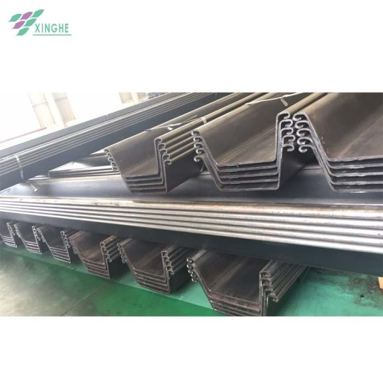 Hot Selling U Type Cold Formed Steel Sheet Piles