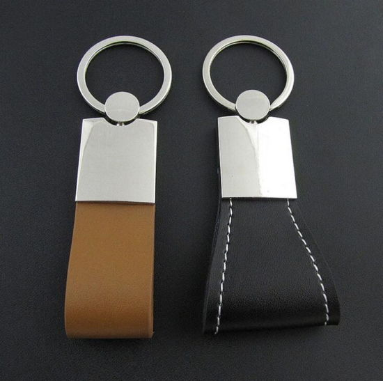 Fashion Leather Keychain, Keychains PU Leather for Advertising pictures & photos