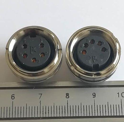 Circular Receptacle 5 Pin  Connector (FS1-5Z1K) pictures & photos