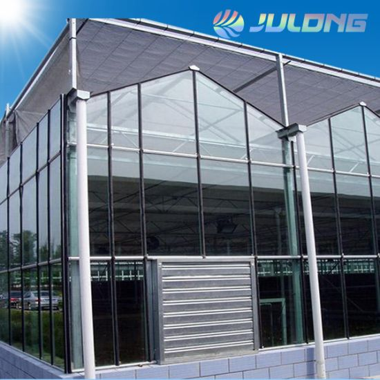 Automated Climate Control Greenhouse for Agricultural Garden Planting