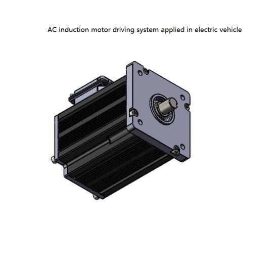 AC Motor 5kw48V for Pump, Blower, Machine Tool, Food Processing, Printing Machines