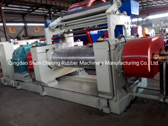 Two Roll Rubber Open Mixing Mill, Rubber Machinery,