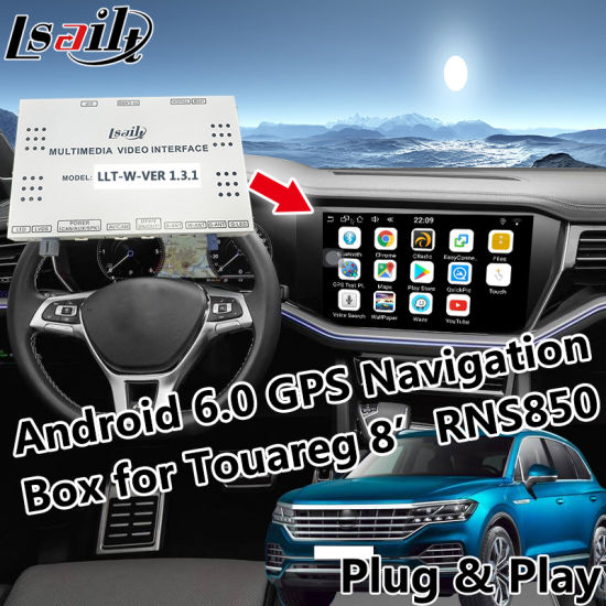 China Android 6 0 GPS Navigation System for 2010-2018 Touareg Rns850