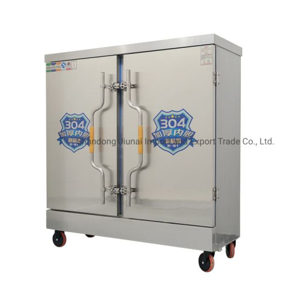 Commercial Electric Gas 4/8/12/24 Tray Dumpling Rice Bun Cabinet Electric Food Steamer