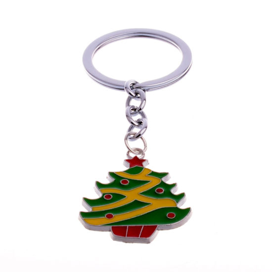 Wholesale Promotional Gift Christmas Keychain