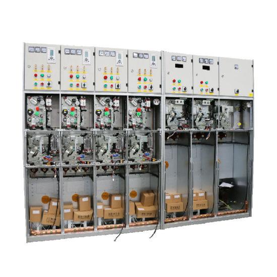 Power Control Switchgear GIS SF6 Gas Insulated/Electrical Power Distribution Box RMU