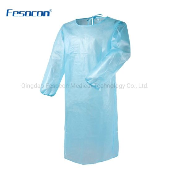 Wholesale Breathability Resisit Virus Protective Clothing Anti-Static Surgical Gown