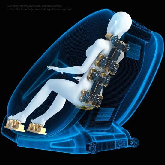 China Best Cheap Factory Price 3D Zero Gravity Electric Recliner Full Body Homedics Shiatsu Massage Chair