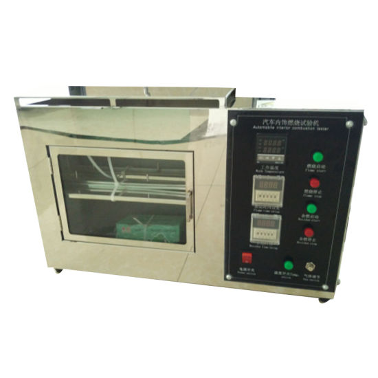 Vertical Horizontal Automotive Interior Burning Test Machine pictures & photos