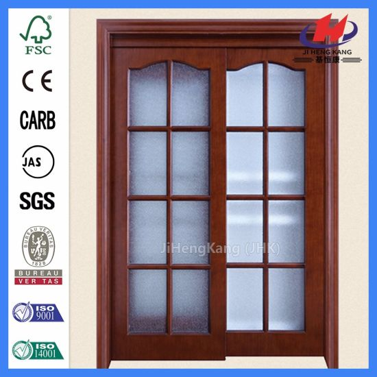 China Double French Doors Louvered Doors Room Divider Door China