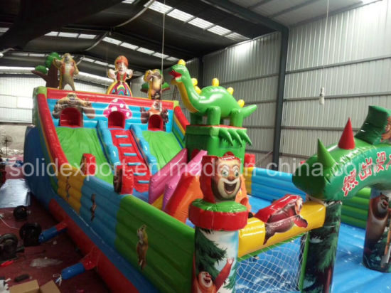 Best Selling Cartoon Inflatable Castle Amusement Inflatable Playground Amusement Park Inflatables pictures & photos
