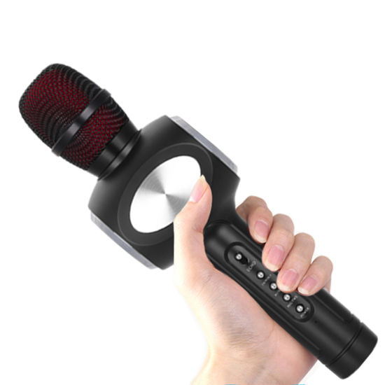 China Duet Sing Wireless Microphone Stand Karaoke Machine