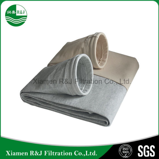 High Temperature Fiberglass for Cement Industry Dust Collect Air Filter Bag