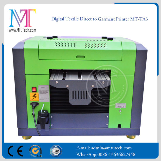 Desktop Automatic Printing Machine Best Price Digital Textile Printer for  T-Shirt