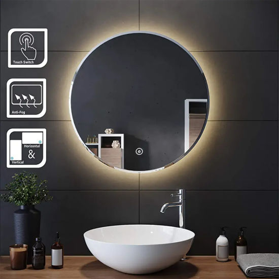 Factory Direct Smart Touch Sensor Bathroom Mirror with Lighting