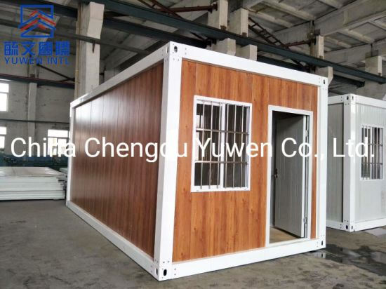 Customized Design Cheap Flat Pack Steel Structure 20FT Container House