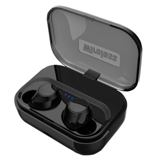 LED Power Display Tws Headset in-Ear Waterproof Dustproof HiFi Sound