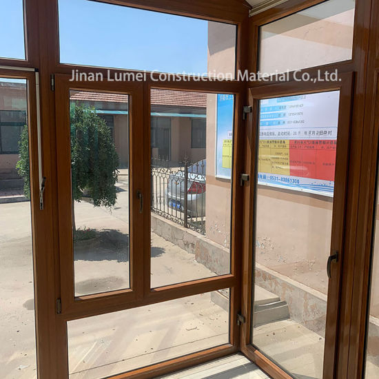 China Upvc Sliding Gl Patio Doors Double Hung Vinyl Replacement