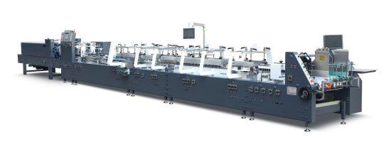 Automatic Cardboard Folder Gluer- Corrugated Board Folding Gluing Machine