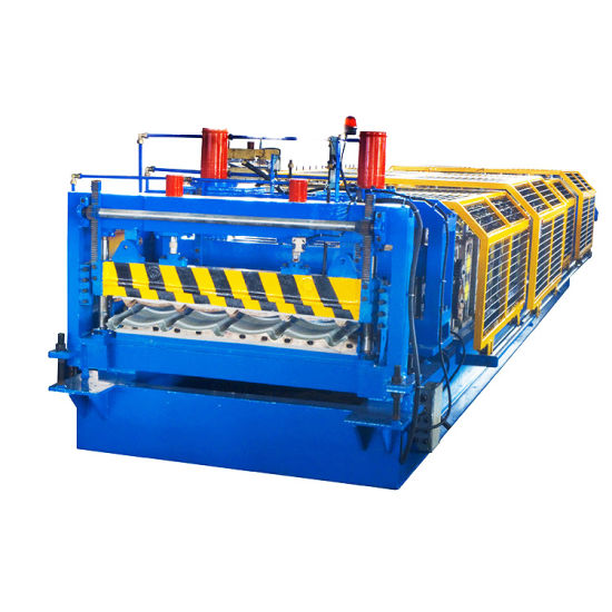 Glazed Tile Roof Roll Forming Machine with PLC Control System