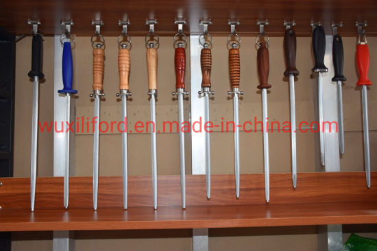12 Inch Carbon Steel Knife Sharpener Rod Supplier From China