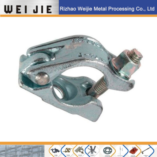 Scaffold/Scaffolding Forged Half Coupler/Clamp in German Style Using in Fitting System pictures & photos