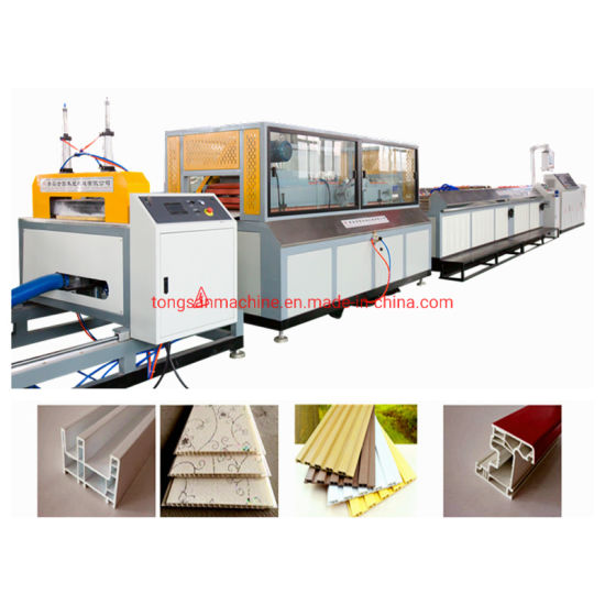 Good Quality PVC Ceiling Panel Making Machine / UPVC Profile Plastic Window and Door Frame Extruder Production Line