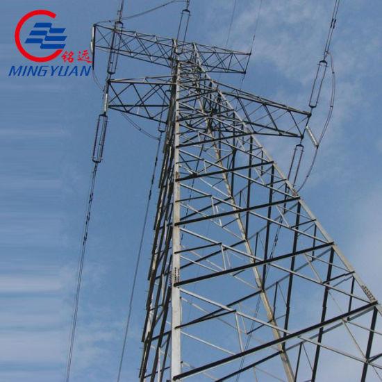 Voltage Transformer 500kv Power Transmission Tower for Power Distribution
